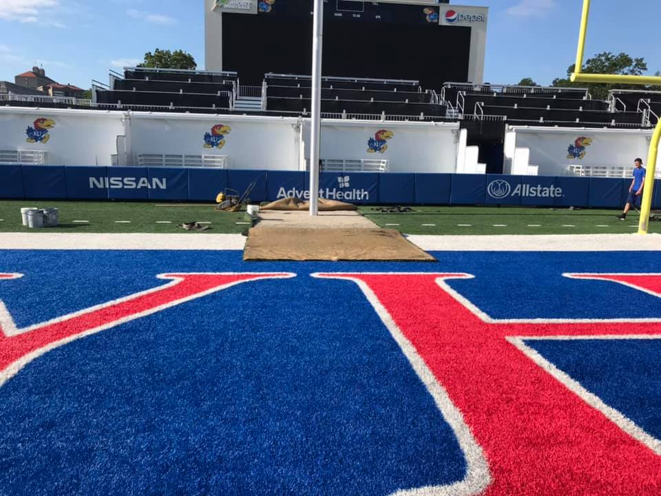 Sports Field Turf Repair
