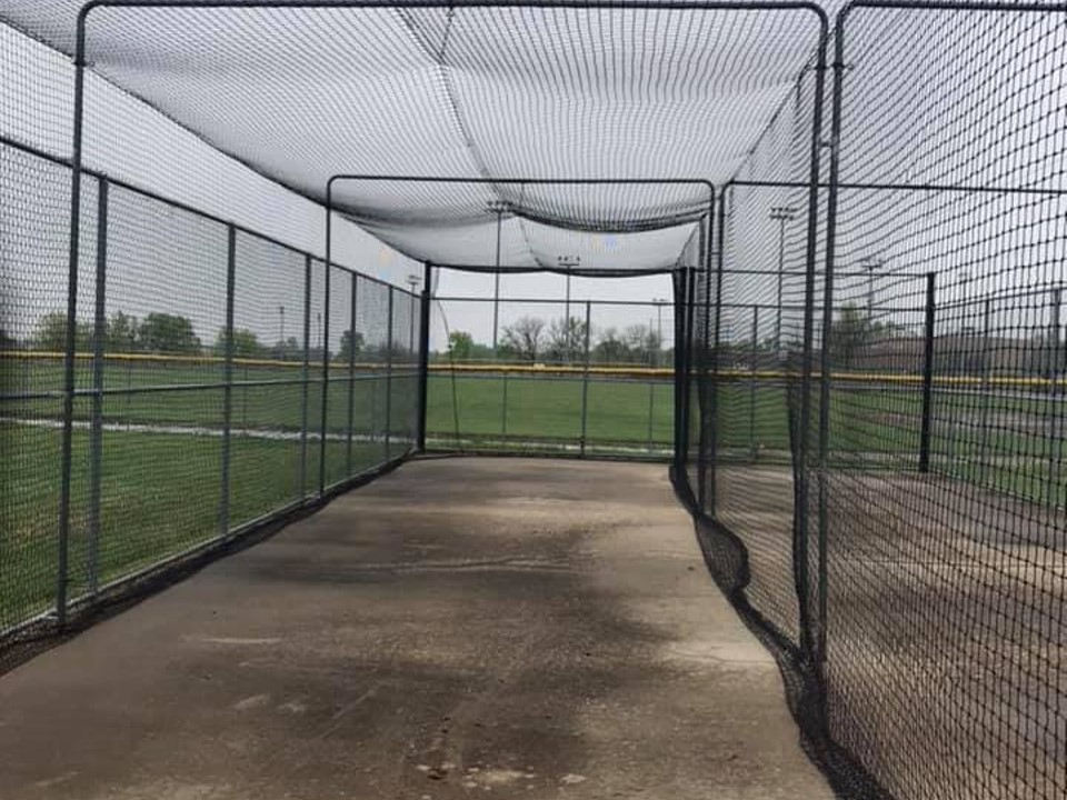 Batting Cage Netting Installation
